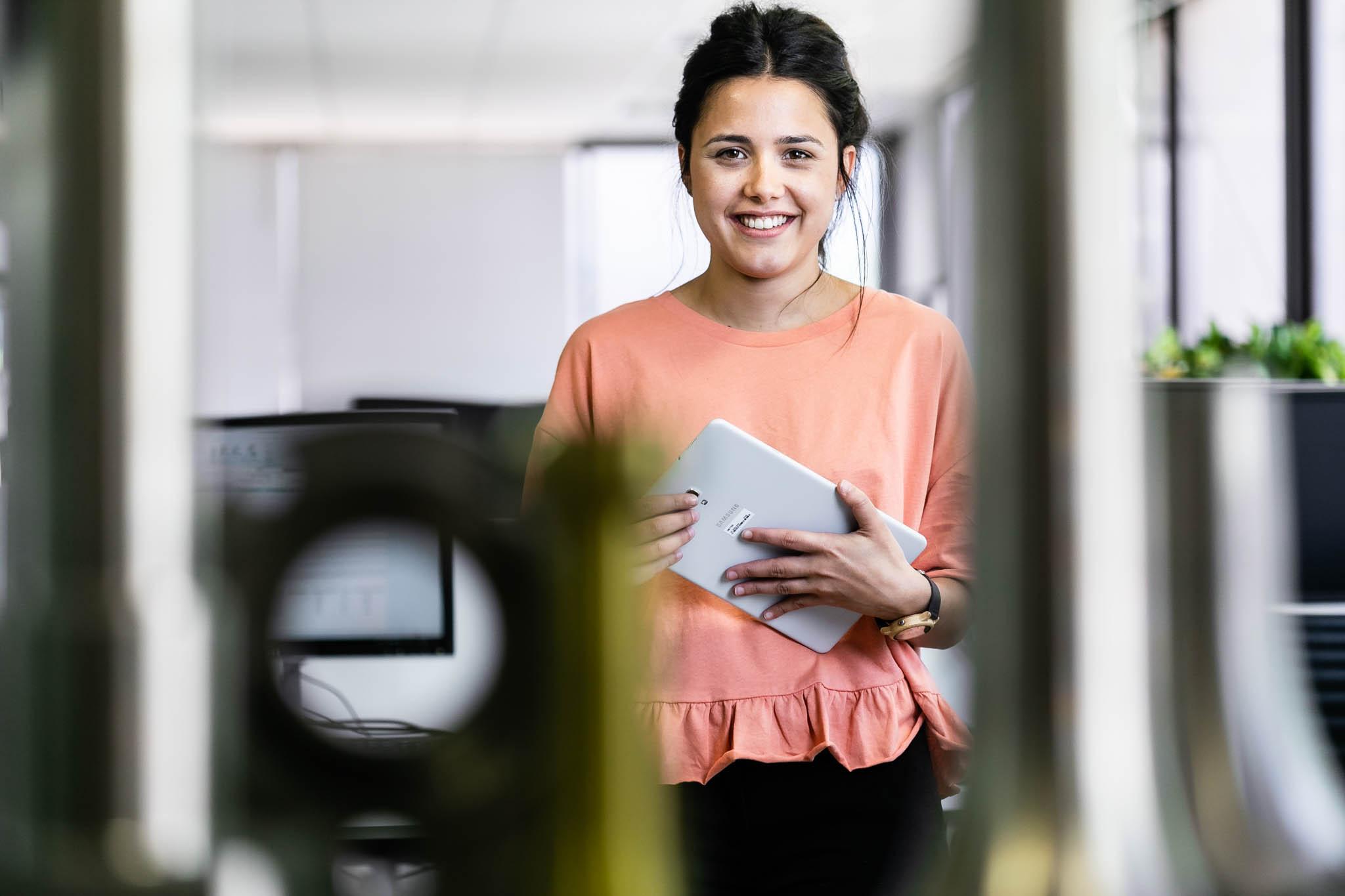 Retrato en oficinas. País Vasco