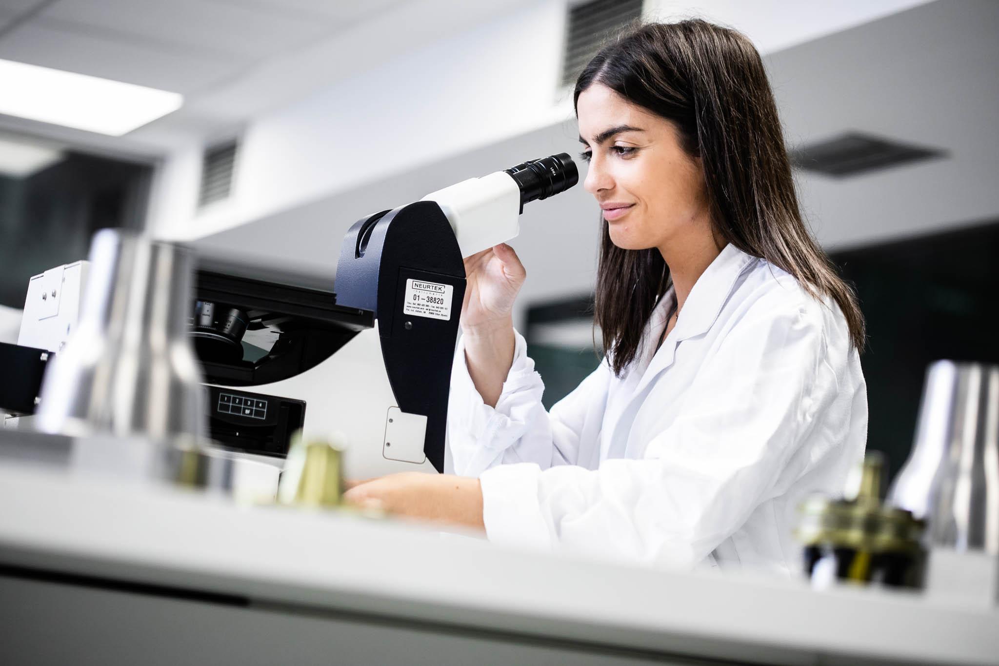 Fotografía de empresas en laboratorio