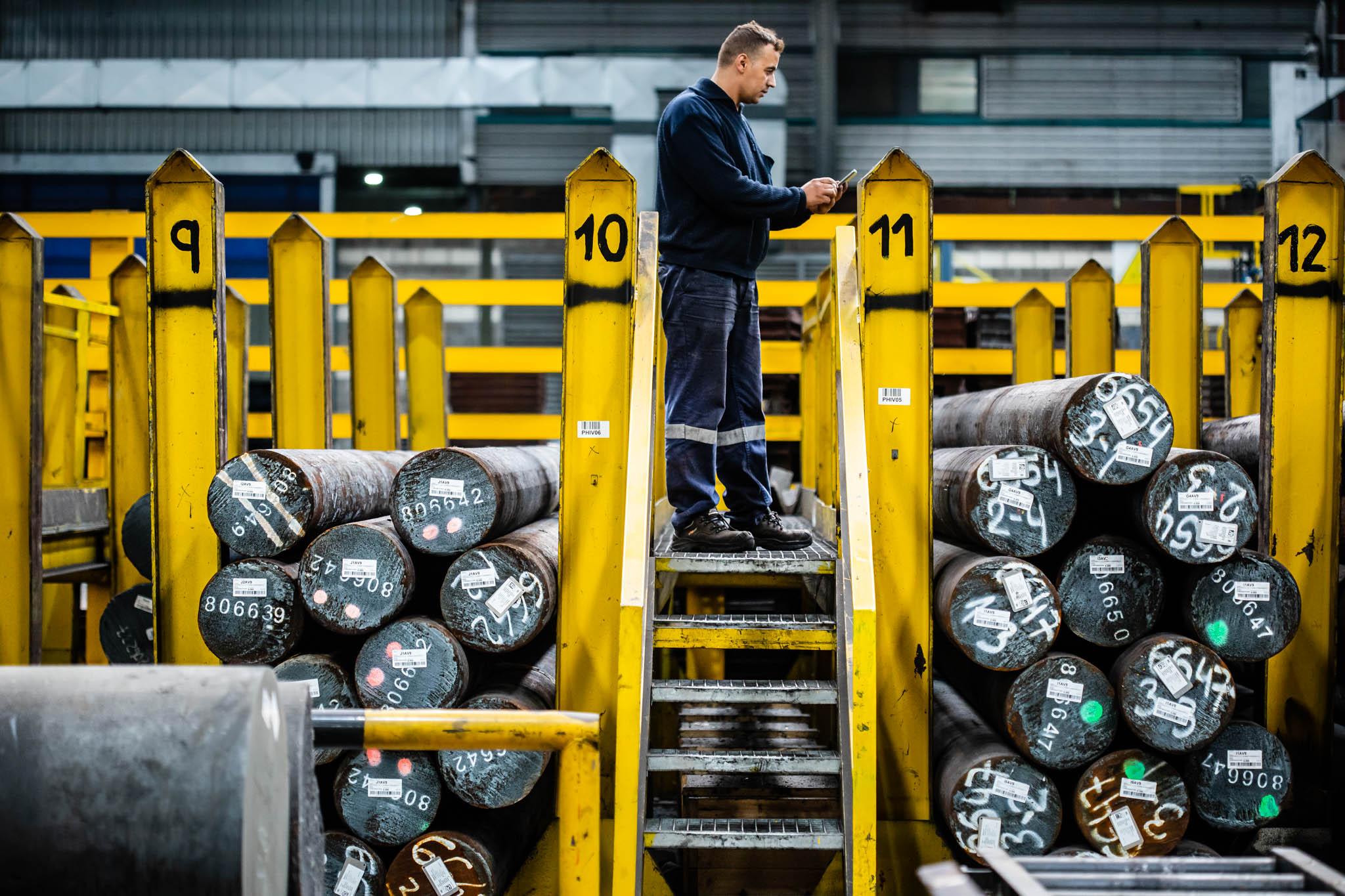 Fotografía de instalaciones. Industria vasca