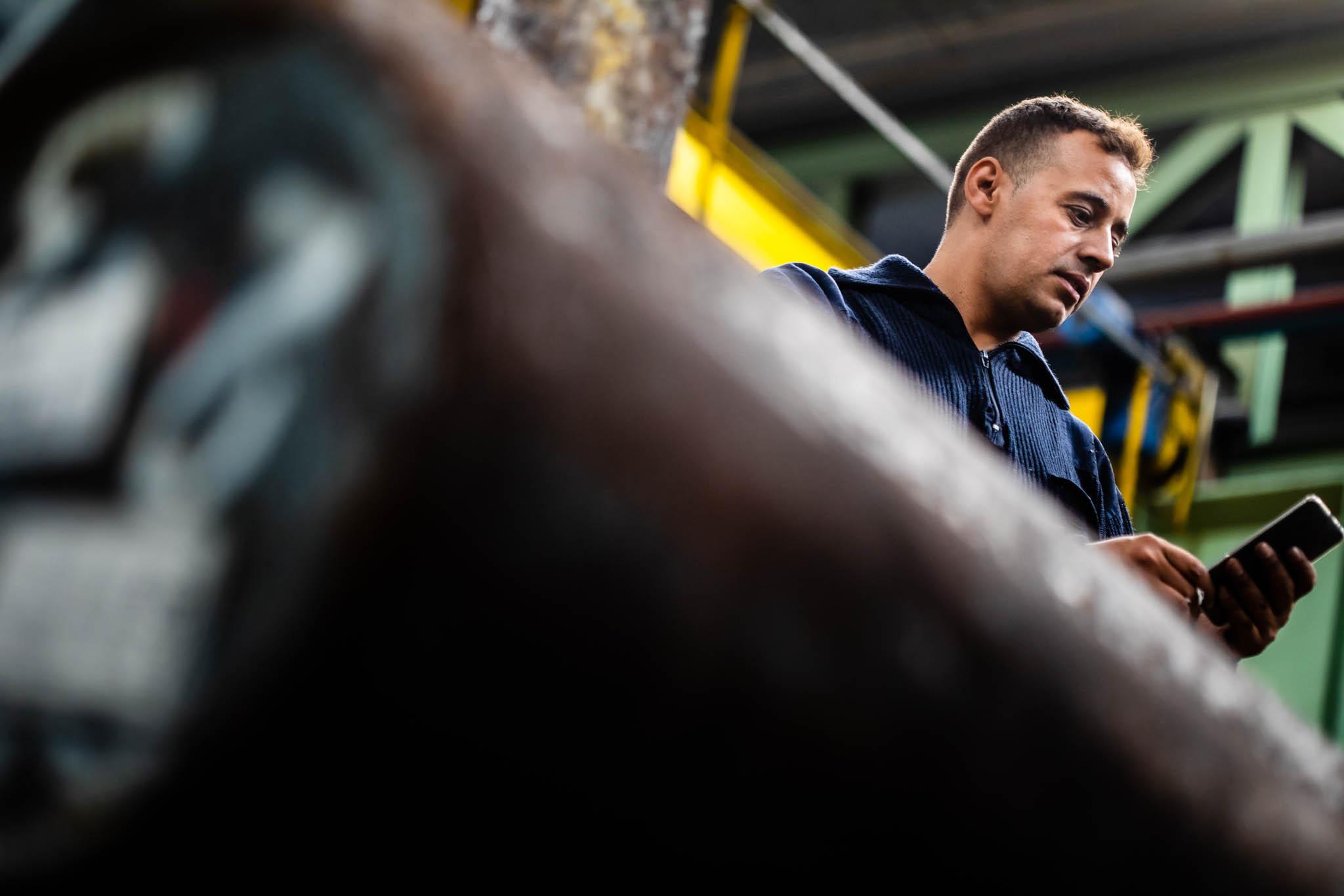 Fotografía para empresas. industrial