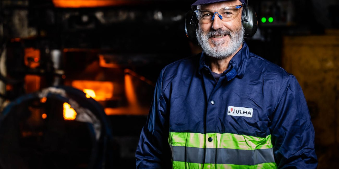 Retrato. ULMA. Industria Forja País Vasco